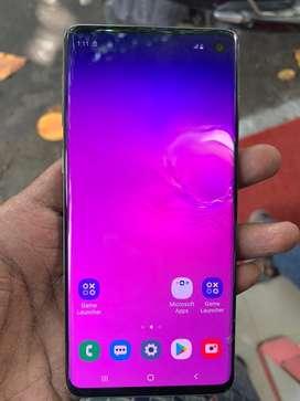 Samsung s10 128gb lite glass crack