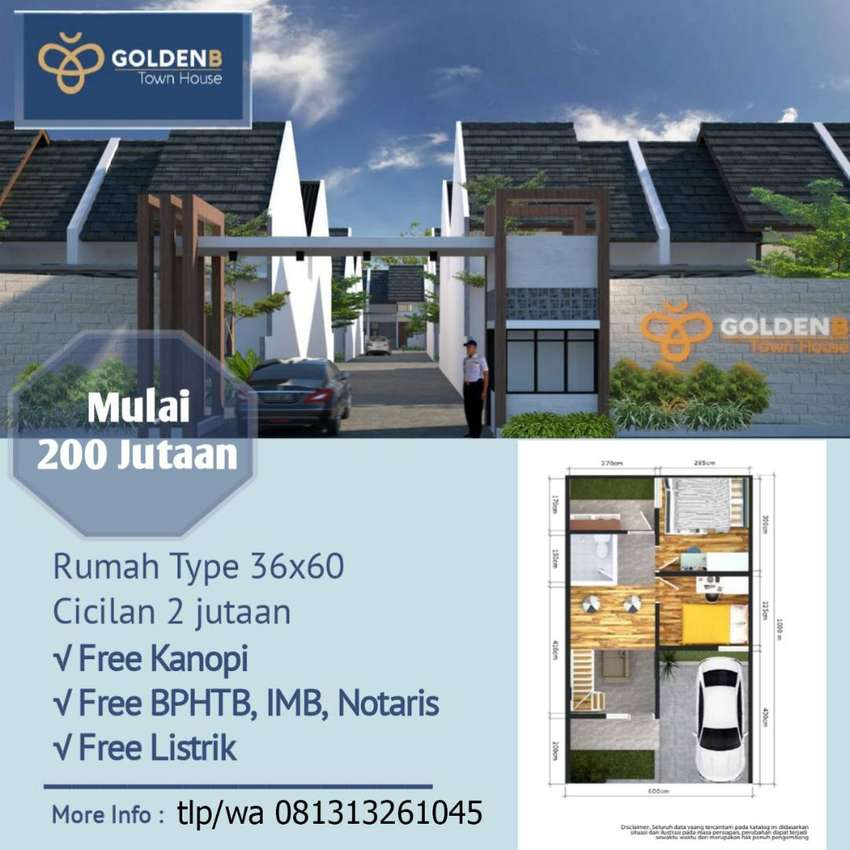JUal Rumah Murah Design Menarik dan Tanah Kavling Tanjungsari