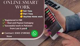Online Smart Work /Full Time /Part Time /Home Work Jobs