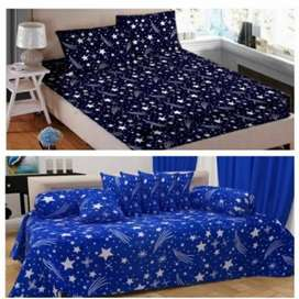 BUMMER OFFERS ON BED SHEETS (11PCs) COMBO AT JUST Rs-538/=