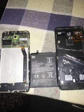 Redmi 5 board battery with out display