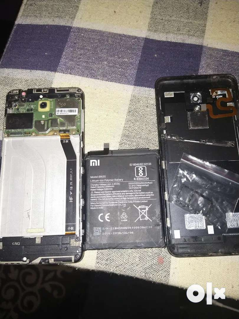 Redmi 5 board battery with out display 0
