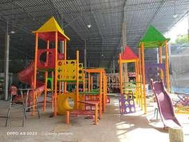 playground taman kereta thomas kincir angin odong
