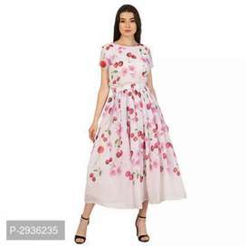 Shop for Printed Long Dresses