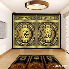 3D Wallpaper Dinding Bisa Request Gambar Hordeng Gorden Rumah Kantor3D