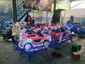 Kereta mini ek wahana odong panggung mobil remot ek