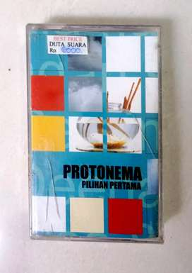 Kaset pita protonema pilihan pertama, original segel