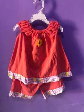 Baju setelan anak / baju anak umur 1 - 2 tahun