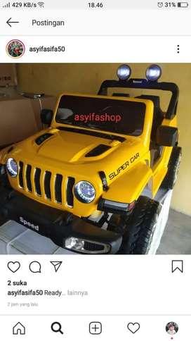 Mobil aki Jeep Rubicon paint
