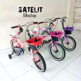 Sepeda Lipat Folding Bike Anak Ukuran 16 inch Axxil