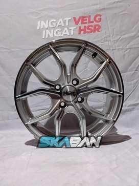 Jual HSR WHEEL Ring 15 H4(100) Utk March, Datsun, Wagon