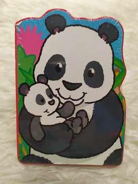 Buku Anak Balita Cerita Panda Animal Babies Boardbook Impor BBW