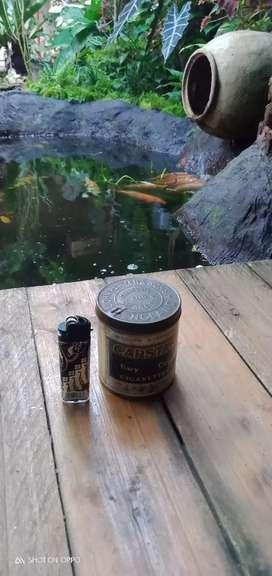 Kaleng tembakau Made england