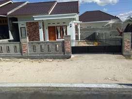 Rumah dikontrakan masih baru