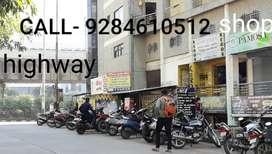 Near Dwarka 600sqft ROAD FRONT SHOP