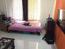 spacious 2 bhk available for bachelors in wakad