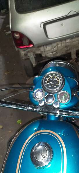 Old bullet Hyderabad plating good condition
