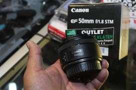 Lensa Fix Canon EF 50mm f1,8 STM