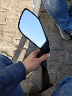 KTM RC left rear view mirror