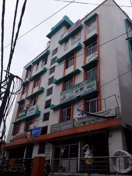A 3100 sq. Ft plot with 3 floor built house for sale in Buddha colony.