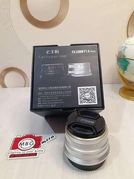 Lensa Fujifilm 7artisans 25mm f1.8