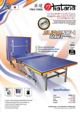 Meja Pingpong Tenis Meja Katana 304 ORIGINAL IMPORT FREE ONGKIR
