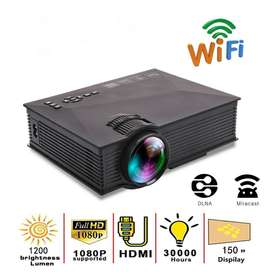 Unic LED Projector Full HD Wifi1800 Lumens 3D Home Theater