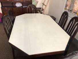 Solid made dinning table