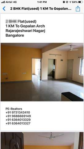 2BHK flat for sale in RR nagar