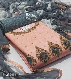 Cotton Handwork Women DressMatetial