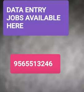 Easy data typing work weekly salary