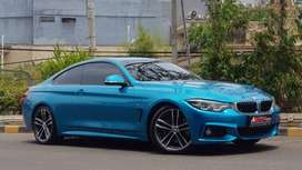 BMW 440i Coupe Facelift 2017 Blue Km 2.000 Like New