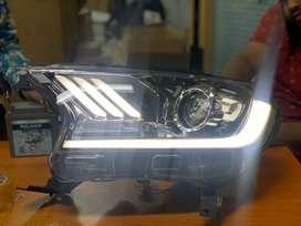 Ford endeavour led projector headlamps mustang type