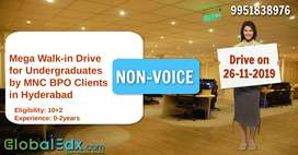 Mega Walk-in Drive for Undergraduates For BPO Non-Voice process by MNC