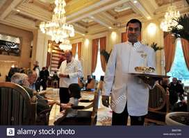 Waiter job in five star hotels club and bar in delhi