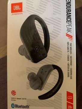 JBL Endurance Peak In-Ear True Wireless Headphones