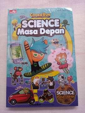 Buku Cookie Run – Science Masa Depan