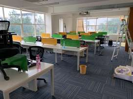 100seater office space for rent in hitech city with new plug n play
