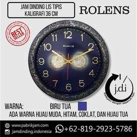 Jam Dinding Diameter 36 CM - List Full Kaligrafi Islam