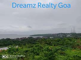 440sqm Seaview NA plot for Sale @Bambolim,Nr Grand Hyatt