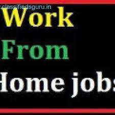 Data entry ,back office executive   part time work  