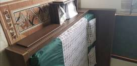 Brown King Size bed for sale
