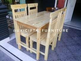 Meja kursi makan meja bar kitchen set dll jati belanda jatilondo