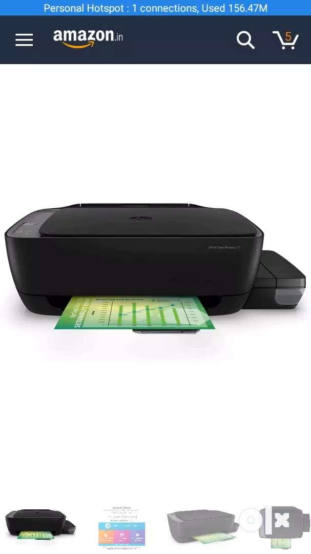 HP printer new seal pack piece box pack 0