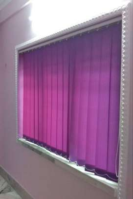 Window Blind and curtain