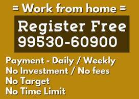 Earn Rs 18000 to Rs 20000 with Form filling work by working from home