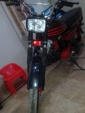 Hero bike making new design  70 cc model 2004