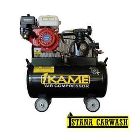 Kompresor Udara IKAME 1/2 PK Motor Bensin, Pusat Hidrolik Mobil Motor