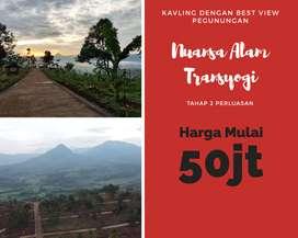 Tanah Kavling Murah, Nuansa Alam Transyogi, Tanah Kavling Investasi