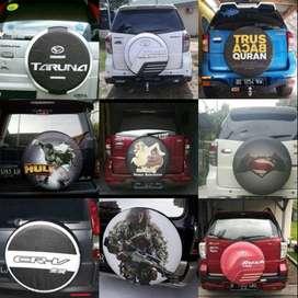 Cover/Sarung Ban Daihatsu Taruna/Rush/Terios/Jimny Sendiri Bisa tiga